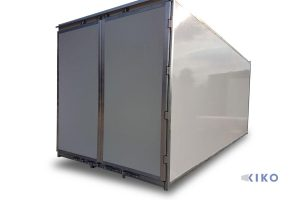 KIKO 10 mit Türen, feste Seitenwand rechts