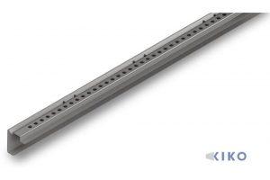 Kombi Außenrahmen mit Lochung für Ladungssicherung und Lochung für Zurrbügel. Wir liefern auch Sonderaußenrahmen bis 6m Länge.